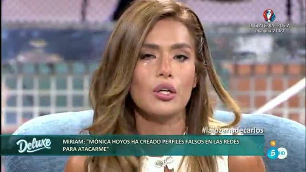 """Miriam envía un mensaje a Mónica Hoyos: """"No quiero hacerte daño ni a ti ni a tu hija"""""""
