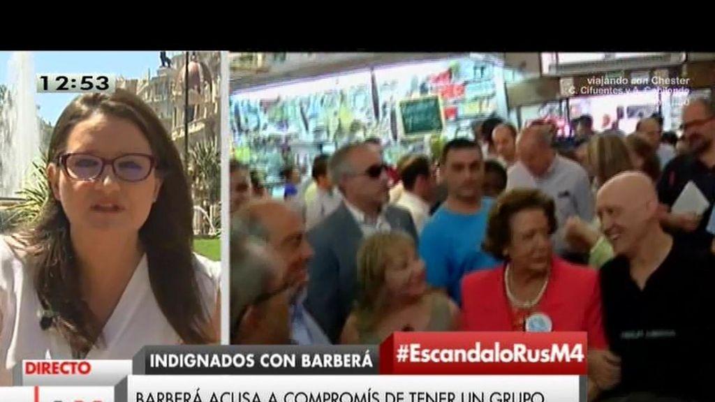 """Mónica Oltra, de Compromís: """"El PP es sinónimo de partido podrido"""""""