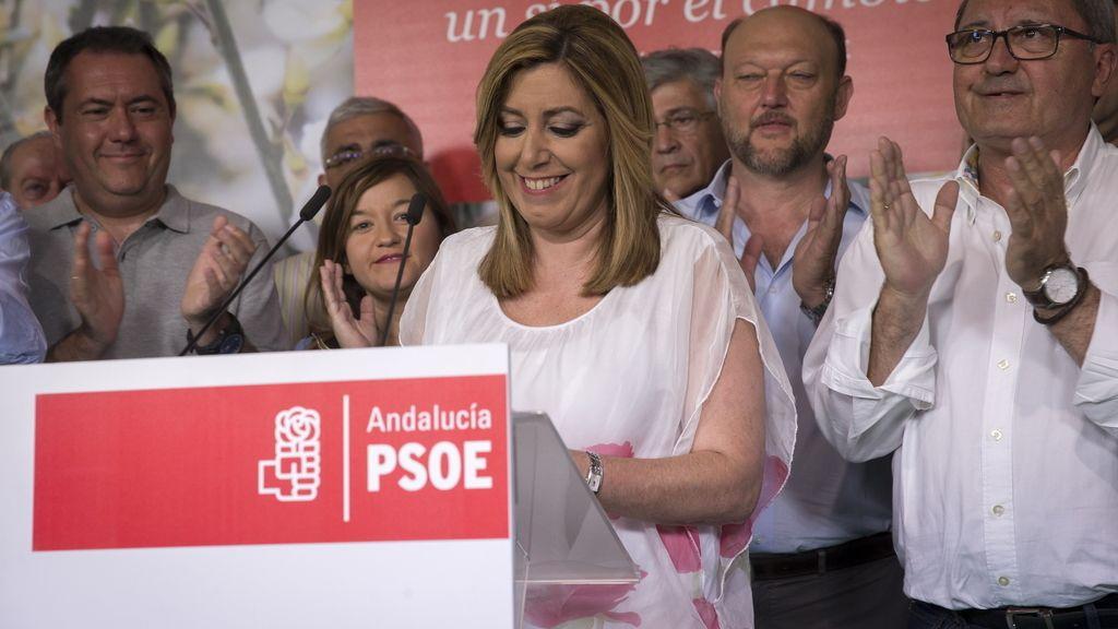"""Susana Díaz: """"Podemos ha facilitado la victoria de la derecha"""""""