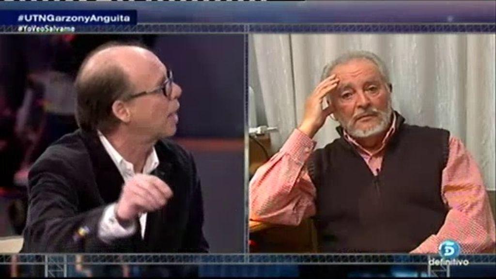 """Anguita a Jaime González: """"No me interrumpa, estoy en el uso de la palabra"""""""