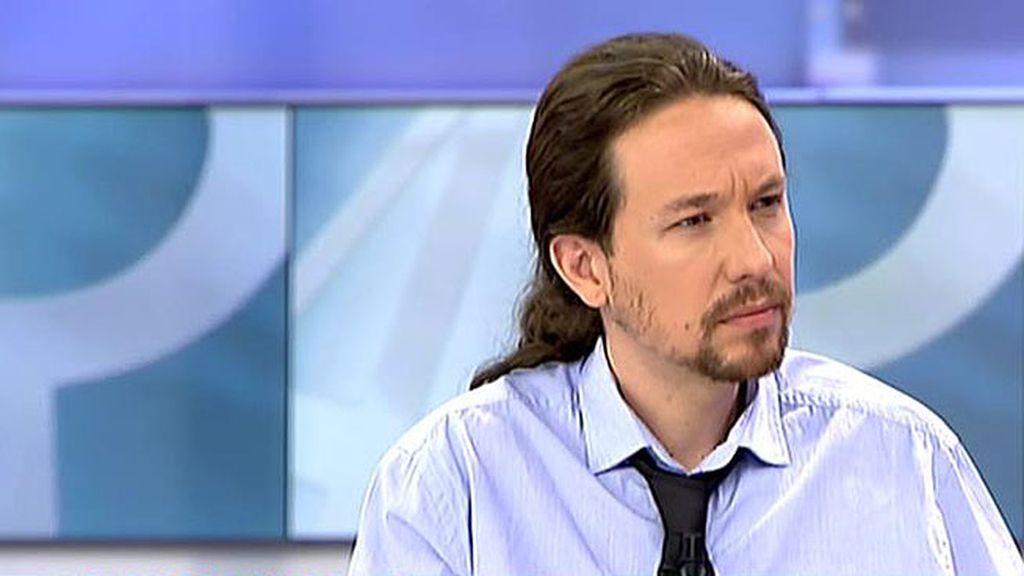 """Pablo Iglesias: """"El PSOE tiene que ser un aliado, aspiramos a gobernar con ellos"""""""