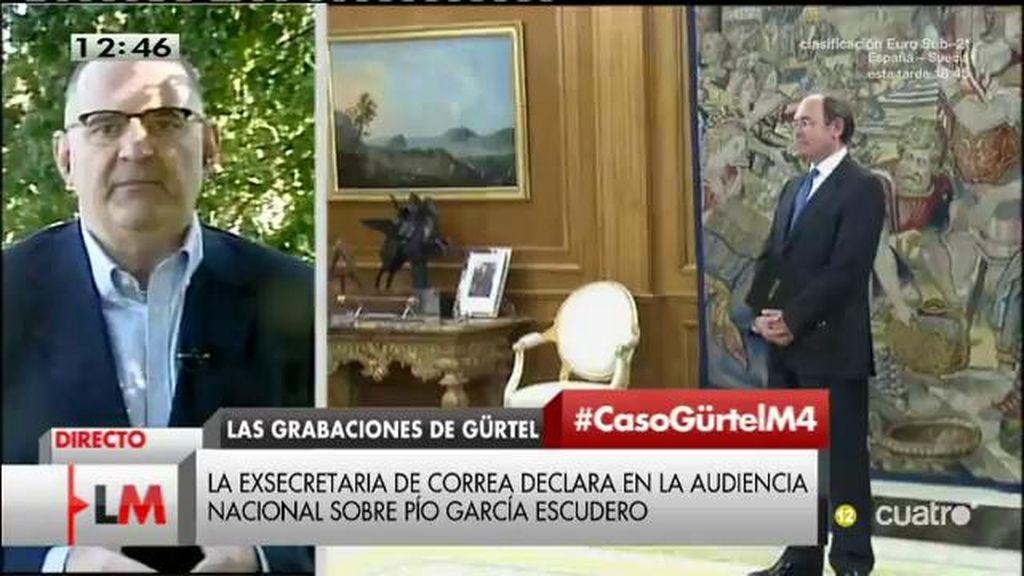 """Losada: """"No podemos seguir sin tener ninguna explicación de Pío García Escudero"""""""