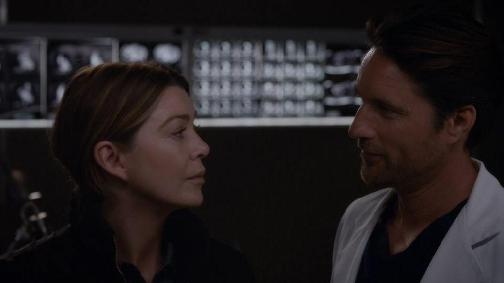 "Meredith, a Riggs: ""No te encapriches de mÍ"""