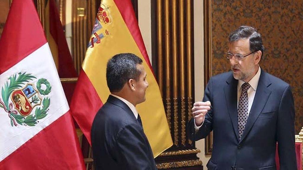 Mariano Rajoy en Perú