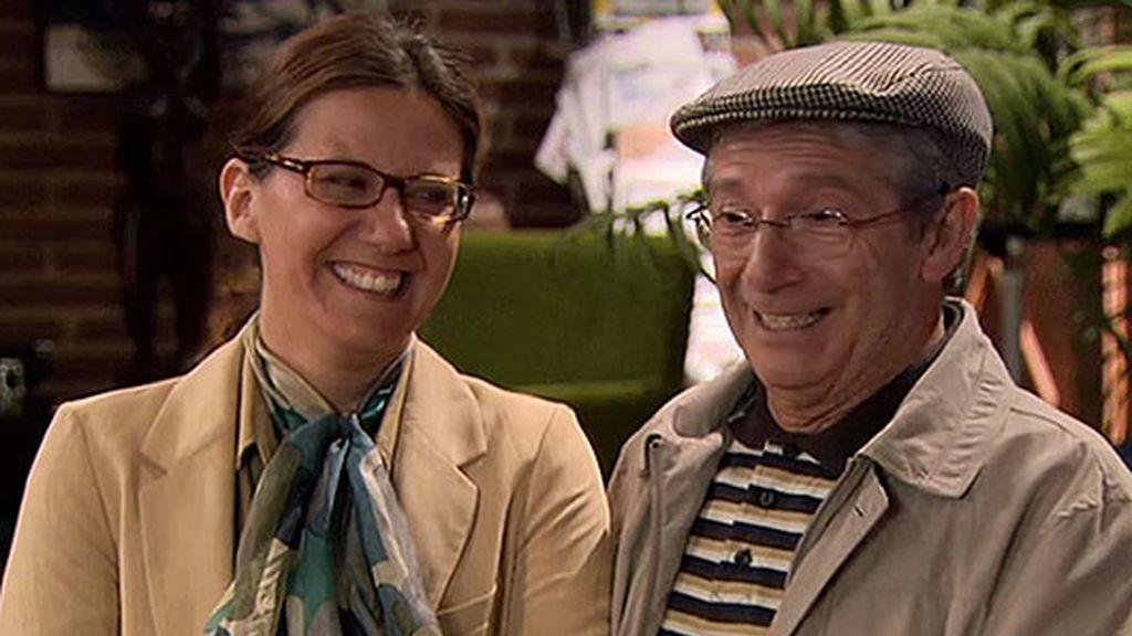 Fátima Baeza y Fernando Andina, cameos de lujo 'Cheers'