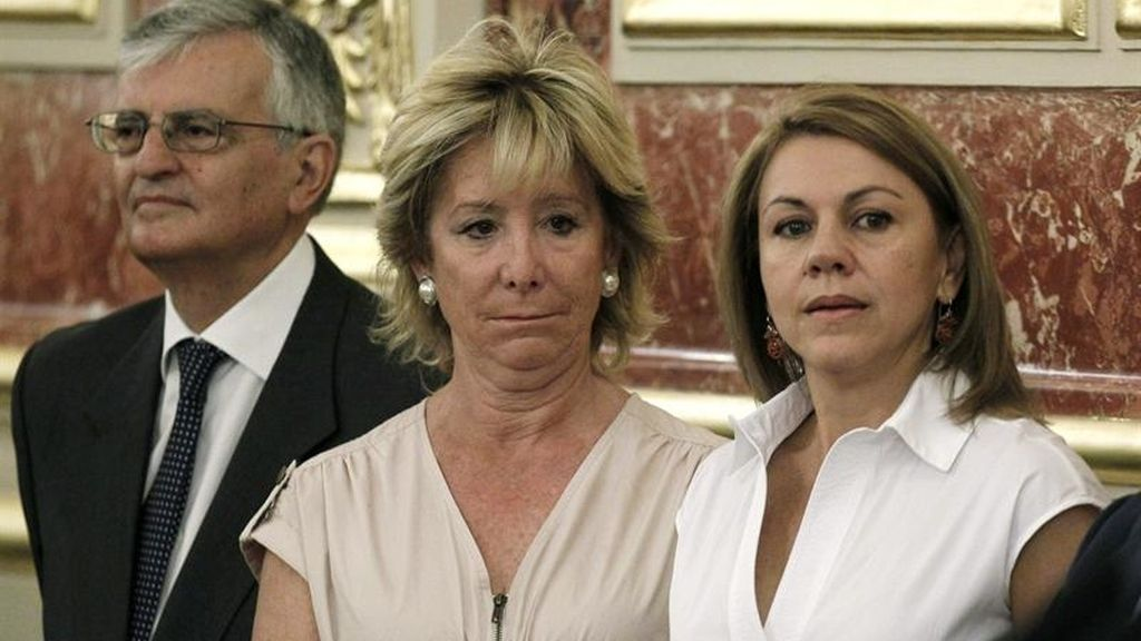 Aguirre, Torres Dulce y Cospedal