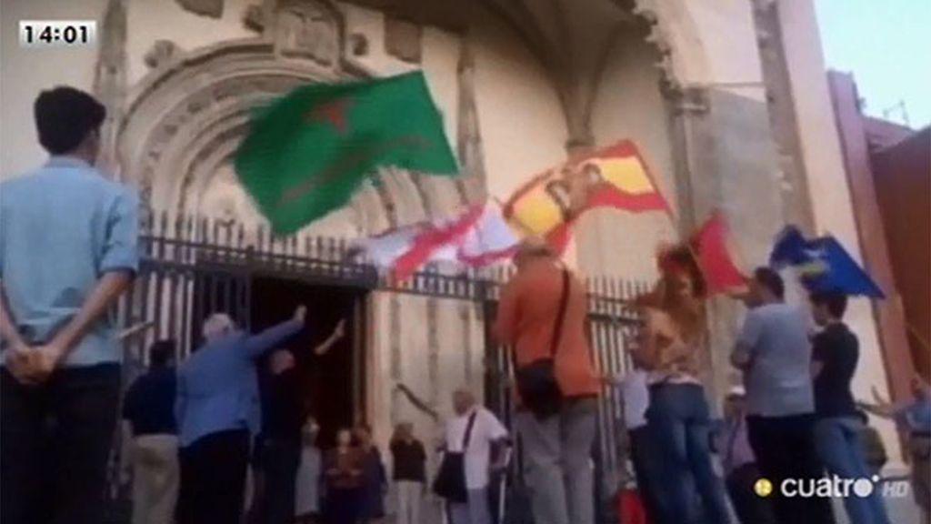 18 julio: Una misa en el centro de Madrid ensalza el golpe de Estado y el franquismo
