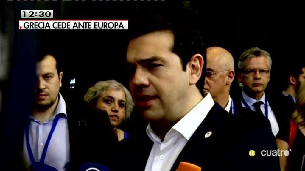 Grecia tiene 96 horas para lograr un tercer rescate de Europa o podría salir del Euro