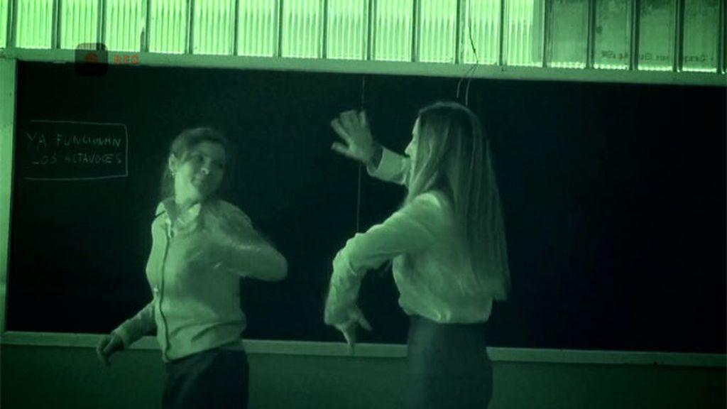 Las hermanas Capdevilla cometen una travesura en el colegio