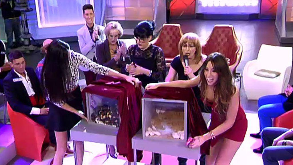 Amelia y tita Manoli lo dan todo por la pasta en el 'Killer Karaoke' de 'MyH'