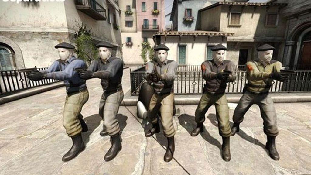 Valve se inspira en ETA para un grupo terrorista de Counter-Strike