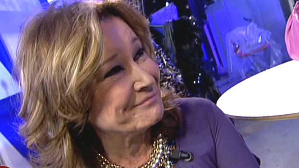 Sin previo aviso, Mila se ha reincoporado a su puesto. ¿Se ha reconciliado con Jorge Javier?