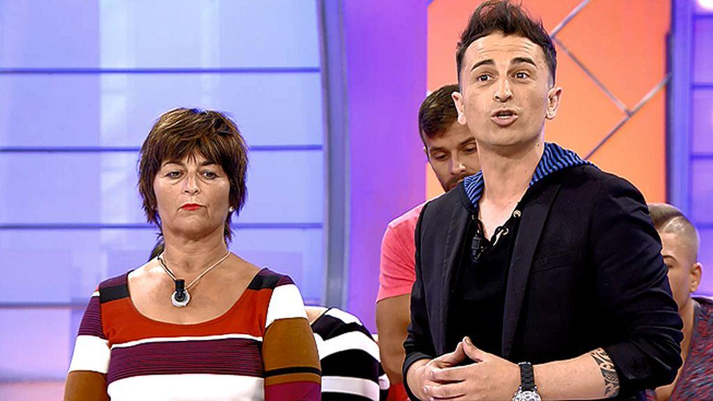 """Fran, hijo de Mari Carmen: """"Carla hace lo que puede porque sigue a su dios"""""""