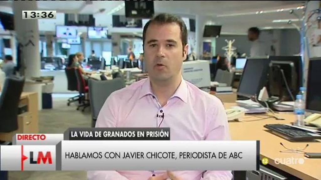 """Javier Chicote: """"Granados ha tardado, pero se ha acabado desmoronando"""""""