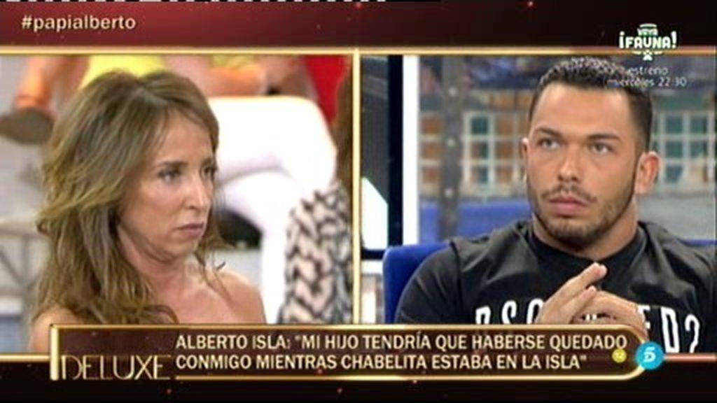 "Alberto, sobre I. Pantoja: ""Se peleó con Isa porque le molestaba que estuviese Dulce"""