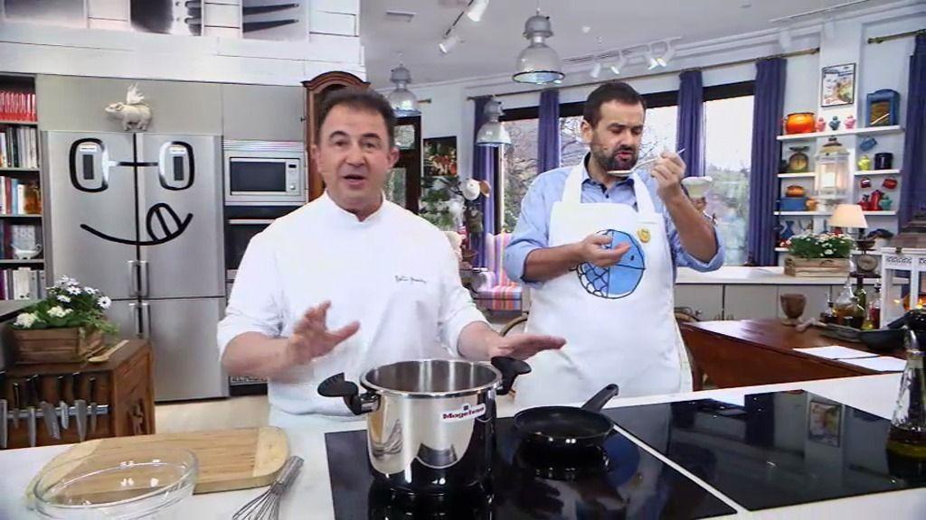 Mart n berasategui te ense a a cocinar unas lentejas en for Cocinar con olla express