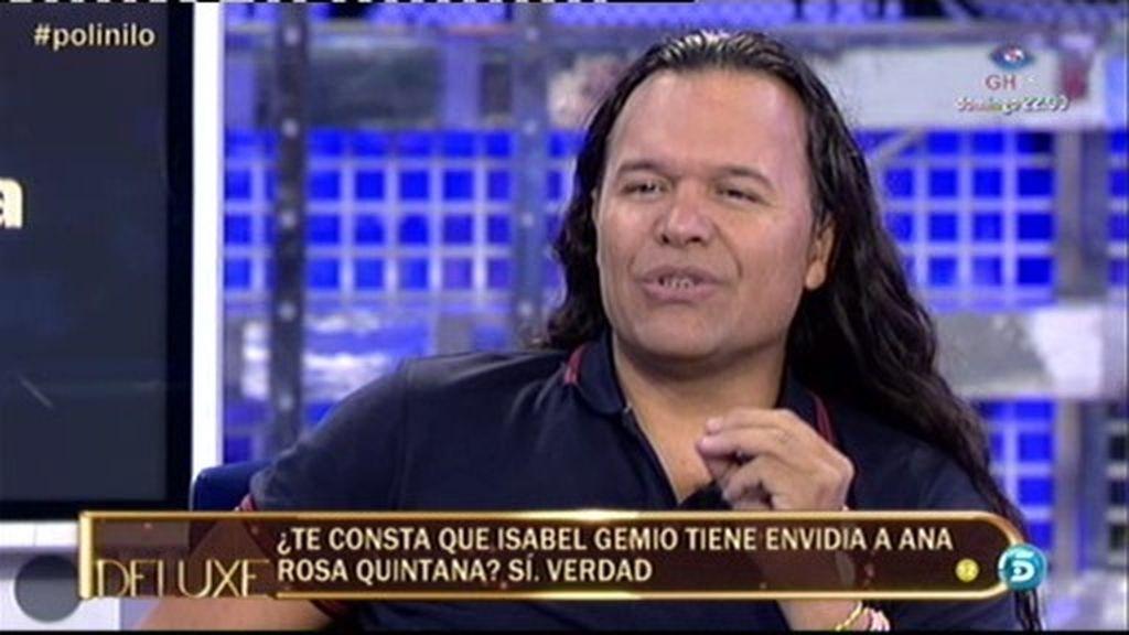 "Nilo Manrique: ""Isabel Gemio tiene envidia a Ana Rosa Quintana"""