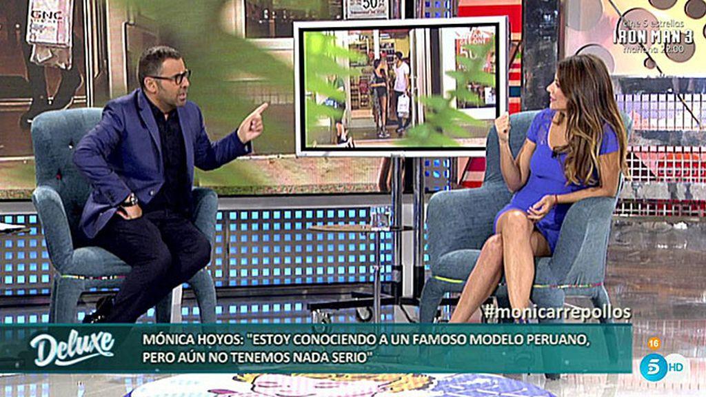 """Jorge Javier, a Mónica: """"Lo siento, pero no me creo tu historia con el modelo"""""""