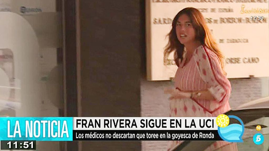 Lourdes Montes visita a su marido