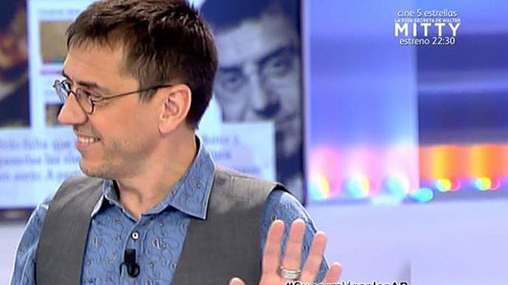 """Monedero analiza el resultado de Podemos: """"Había que haber hecho antes la confluencia"""""""
