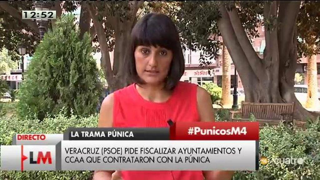 """Veracruz (PSOE): """"Rajoy tiene que dar explicaciones y Aguirre debería dimitir"""""""