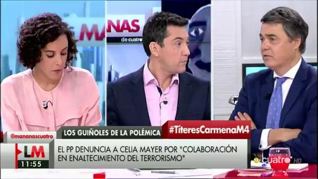 """Nagua Alba (Podemos): """"Decretar prisión incondicional sin fianza por mover muñequitos me parece fuera de lugar"""""""