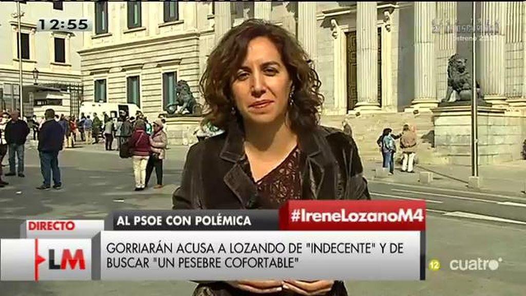 """Irene Lozano, responde a las críticas de UPyD: """"No contesto a los insultos porque creo que definen a quien los pronuncia"""""""