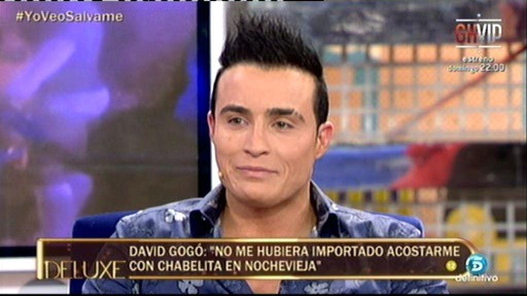 """David, el gogó de Chabelita: """"Alejandro la zarandeó delante de nosotros"""""""