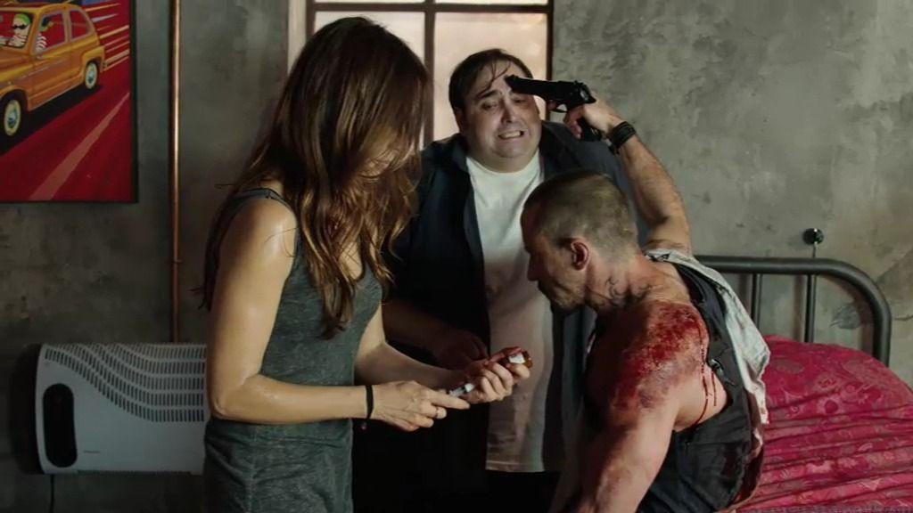 "Marta intenta sacarle la bala a Crespo: ""Si te toco una arteria morirás"""