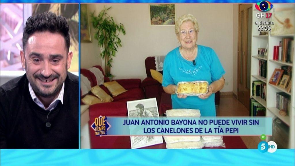 Juan Antonio Bayona, emocionado con el mensaje de su tía Pepi