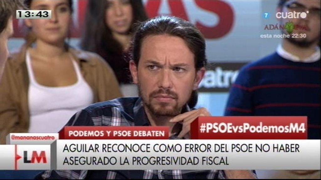 """Pablo Iglesias: """"Un error de 'Podemos' ha sido mi exceso de arrogancia"""""""