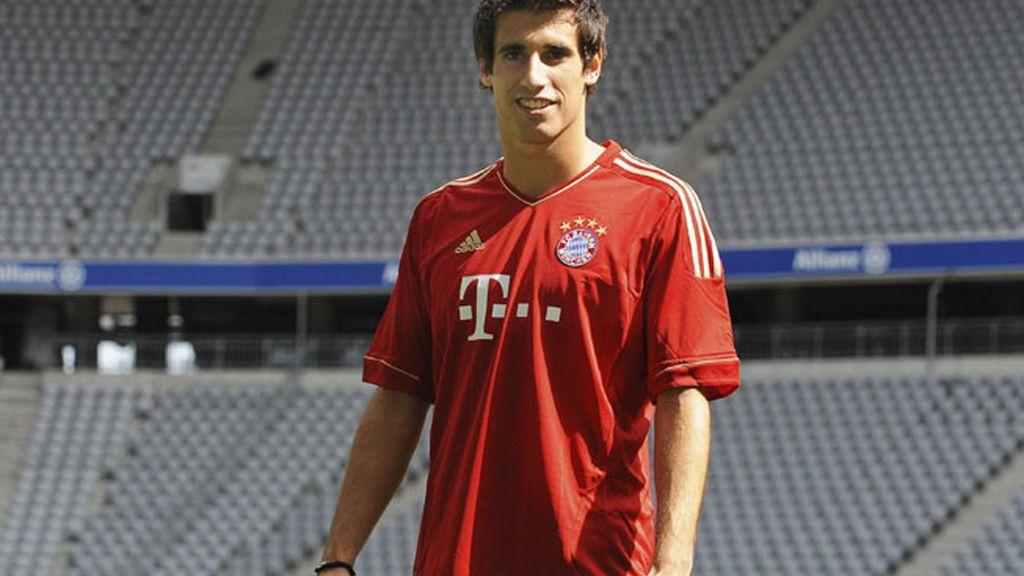 Javi Martínez ya luce la camiseta del Bayern de Munich