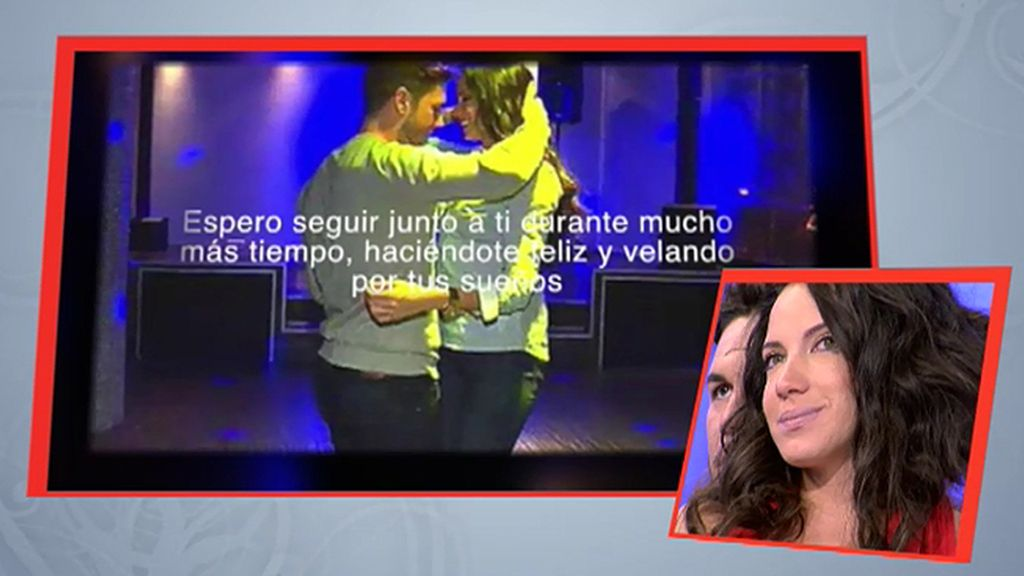 Adrián consigue emocionar a Samira