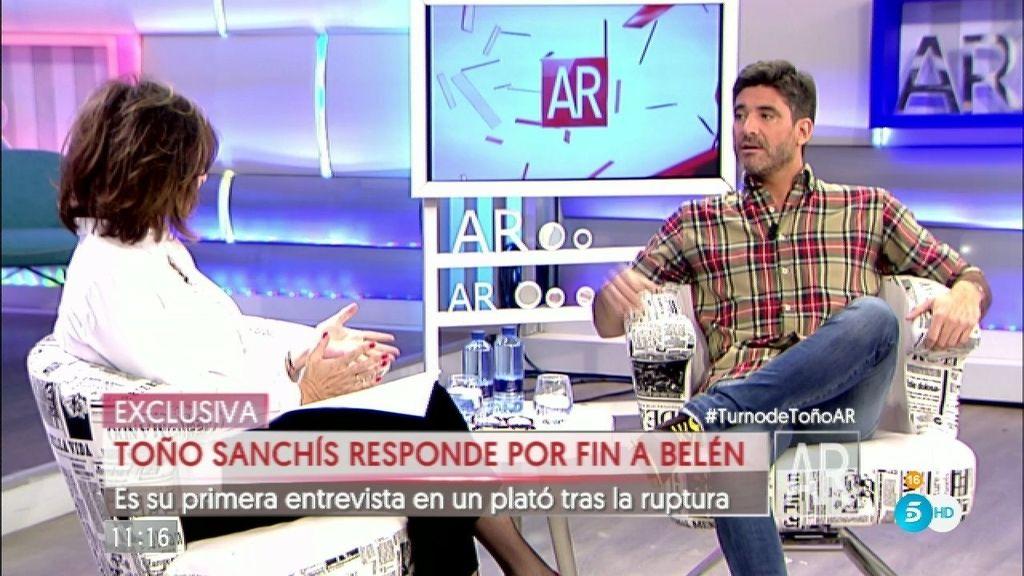 """Toño Sanchís: """"Yo no soy su gestor. No administré su dinero"""""""