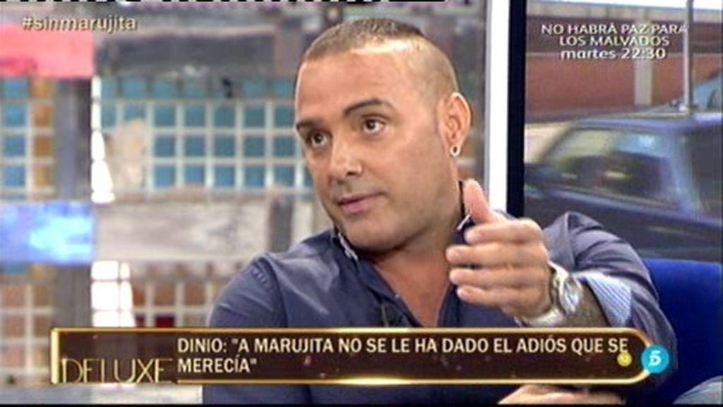 Así han sido las duras críticas de Dinio García por el adiós a Marujita Díaz