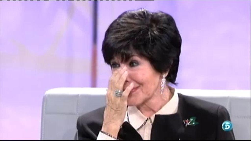 """Concha Velasco, emocionada: """"He perdido una parte de mi vida irrecuperable"""""""