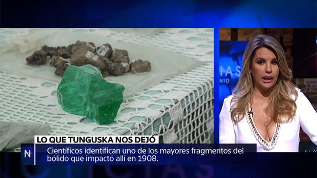 Fragmentos de un meteorito, un extraño objeto entre los restos del navío Esmeralda...