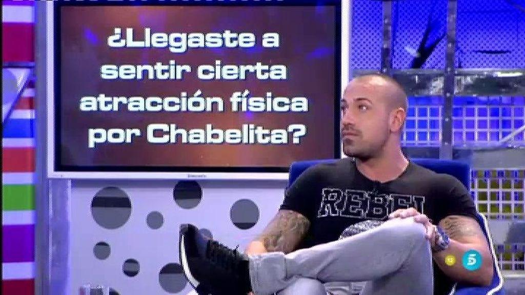 ¿Se ha sentido Rafa Mora físicamente atraído por Chabelita?