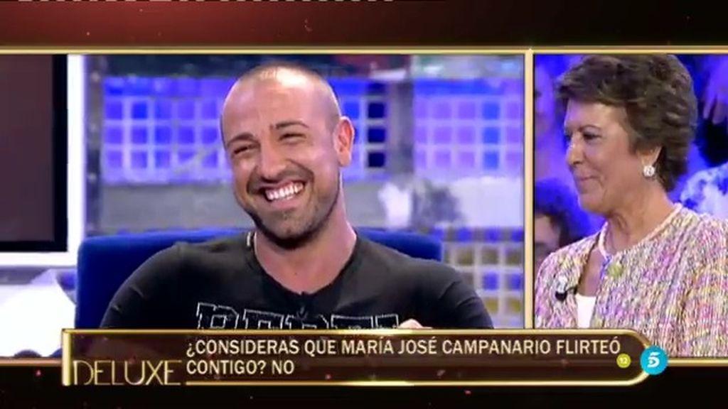 """¡¡Notición!! El 'Poli' confirma que María José Campanario ha """"flirteado"""" con Rafa Mora"""