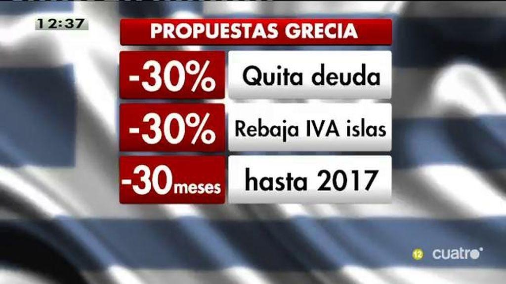 La propuesta de Grecia