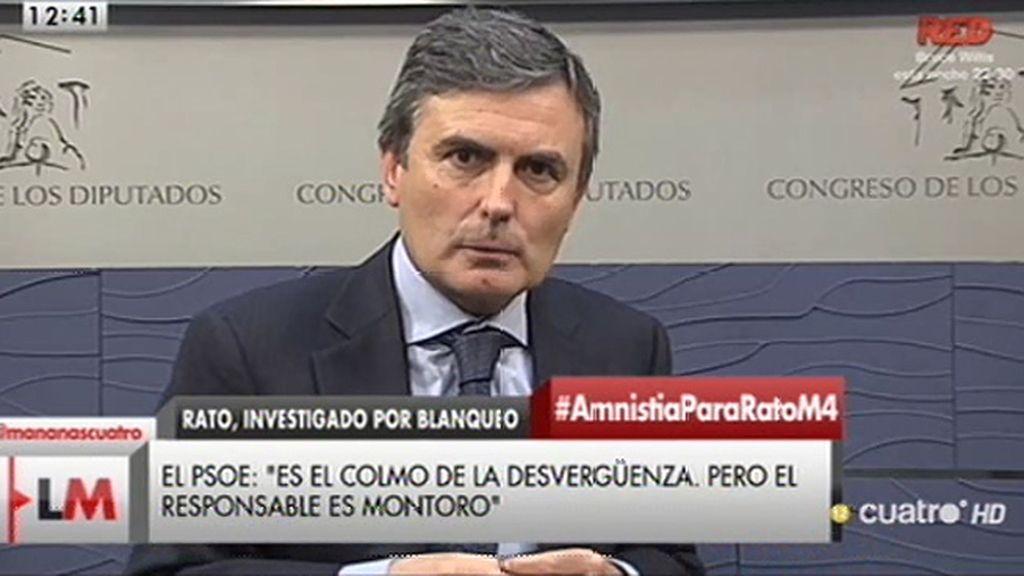 """Pedro Saura: """"Este ministro no puede estar un minuto más al frente de Hacienda"""""""