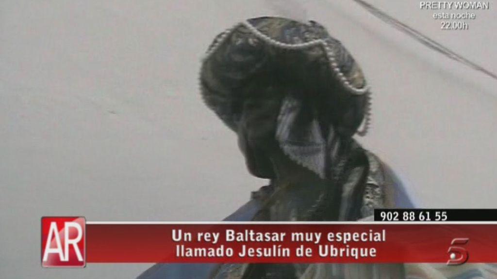 Participa en la cabalgata de Reyes de su ciudad natal, Ubrique
