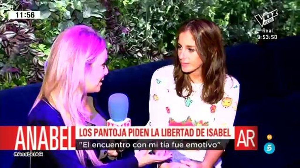 Anabel Pantoja habla sobre su familia