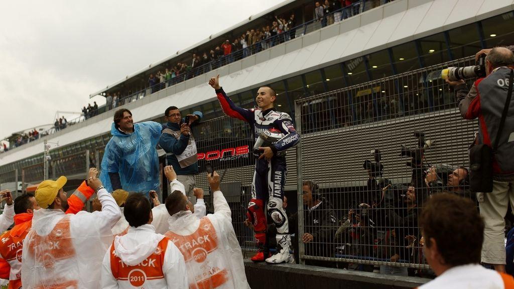 Jorge Lorenzo, en Jerez
