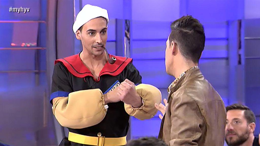 Gonzalo, un Popeye con y sin camiseta