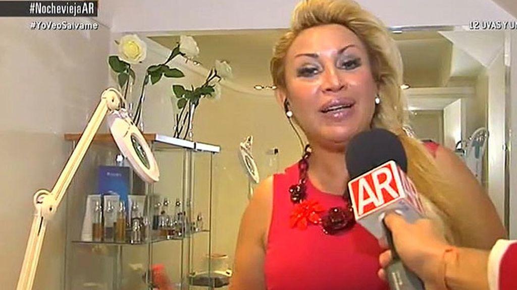 Raquel Mosquera se prepara para Nochevieja en 'AR'