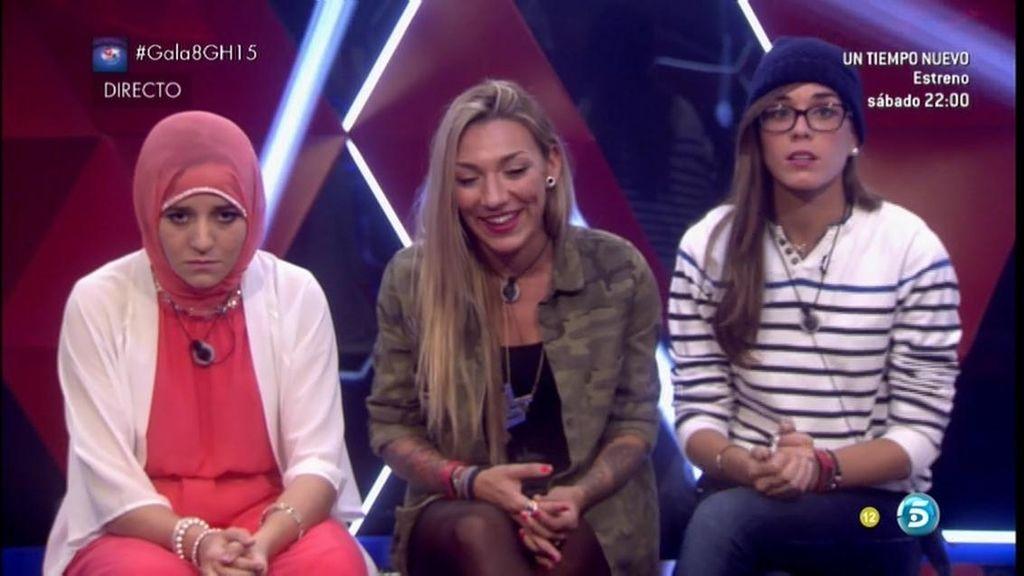 Paula, Shaima y Alejandra, nominadas
