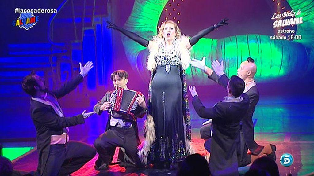 Así ha sido el debut de Rosa Benito en el Teatro Calderón