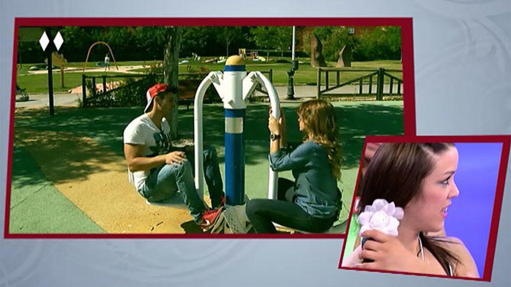 El beso entre Noel y Cristina no surge