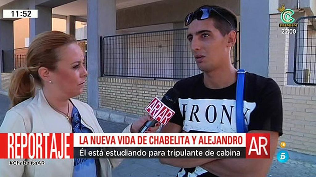 Conocemos el barrio de Chabelita y Alejandro